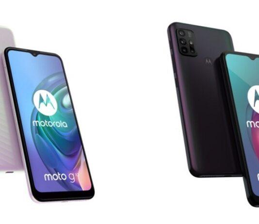 Moto g10 e g30 di Motorola