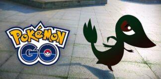 Shiny Snivy Pokémon GO