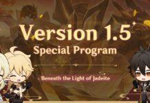 Genshin Impact 1.5