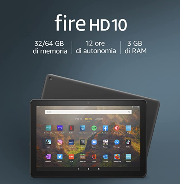 Tablet Fire HD