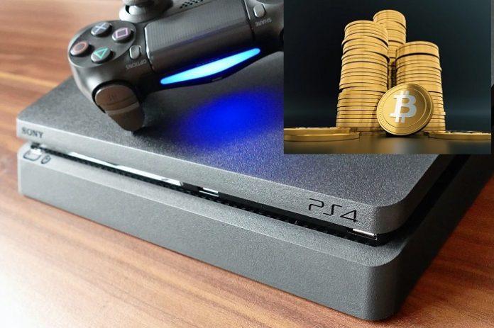 PS4 usate per minare criptovalute