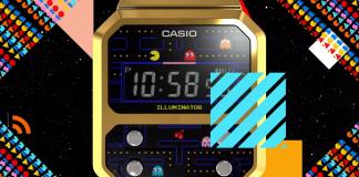 Pac-Man e Casio uniscono le forze in un orologio unico